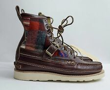 Yuketen Maine Guide DB Boots with Strap MSRP $836.00 Made in USA Horween 10E