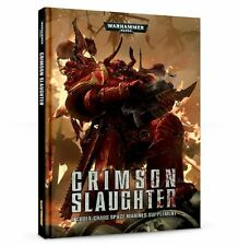 CRIMSON SLAUGHTER - A CODEX SUPPLIMENT -WARHAMMER 40,000 - GAMES WORKSHOP