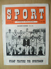 SPORT WEEKLY MAGAZINE- Derby Shire C C C,3 July 1948, Vol. 4 No. 26