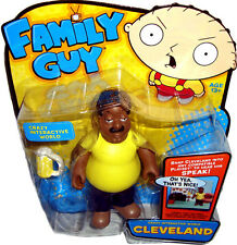 Family Guy Crazy Interactive World Cleveland Brown Action Figure MIB Playmates