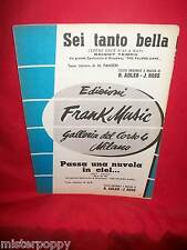 """J. ROSS dal Film """"The Pajama game"""" OST Spartito Music Sheet 1954"""