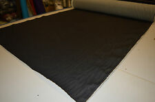 "70's REPLICA BLACK STRETCH BROKEN TWILL DENIM JEANS FABRIC 12oz 54"" WIDTH"