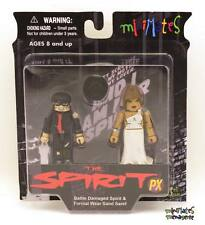 Spirit Minimates Previews Exclusive Battle Damaged Spirit & Formal Sand Saref