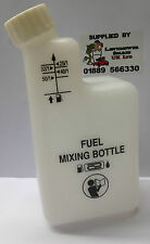 Chainsaw 2 Stroke Fuel mixing bottle for use with Stihl Echo Husqvarna etc