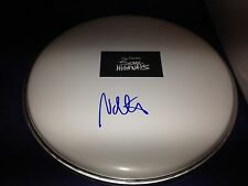 Nate Mendel Foo Fighters Signed Drumhead Sonic Highways Autographed W/COA