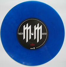 "Marilyn Manson mOBSCENE 7"" Blue Vinyl (UK/with Poster)"