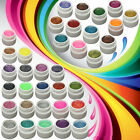 36 Colors DIY Glitter Shiny Extension Nail Art UV Gel Glue Builder Tips Manicure