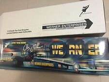 Action Lehman Racing NHRA 1/16 Top Fuel Dragster Werner Enterprises Matco Tools