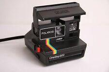 POLAROID ONE STEP 600 INSTANT FILM CAMERA - RAINBOW - Guaranteed to Work!