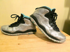 rare Nike Air Jordan X 10 Retro SILVER LADY LIBERTY 10.5 kobe james