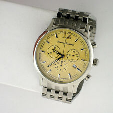 TOMMY BAHAMA SWISS ISLAND HERITAGE MENS WATCH TB3046 SS LINK BAND CHRONOGRAPH