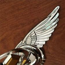 For Chevrolet High Quality 3D Car Hood Emblem Badge Metal Silver with Wings