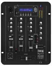 IMG Stage Line MPX 30 DMP Mesa de mezclas con integrado MP 3 Reproductor
