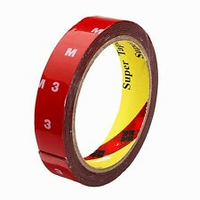 "Original 3M Double Sided Adhesive Tape Acrylic Foam Car Auto 24 mm (1"") x 4 m"
