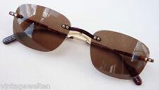 Alpina leichte Sonnenbrille unisex randlos braune Tönung hochwertige Marke NEU
