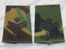 GB-Rangschlaufen: Staff Sergeant, RAF, Royal Air Force ,DPM,Luftwaffe