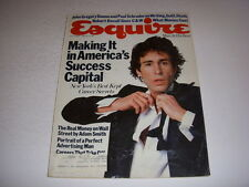 ESQUIRE Magazine, July, 1982, WHEEL OF FORTUNE Article, PAT SAJAK SUSAN STAFFORD