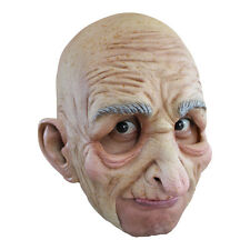 Old Man Adult Jawless Full Overhead Latex Mask Ghoulish Productions 27507