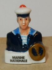 RARE CHARM MILITARY FEVE BUSTE PERSONNAGE MILITAIRE SOLDAT MARINE NATIONALE