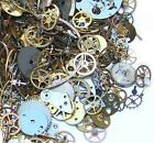 10 grams Old Steampunk Watch Parts GEARS Vintage Antique Cogs Wheels Pieces Sale