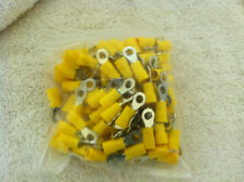 Yellow Electric Ring Terminals  100 per bag FREE SHIPPING