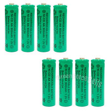8 x AA 900mAh Ni-Cd NICD Ni-Cad 1.2V rechargeable battery cell/RC Green US Stock