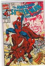Amazing Spiderman #4 Chaos and Calgary drug promo 9.6