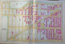 1891 E. ROBINSON MORNINGSIDE HEIGHTS MANHATTAN ORIGINAL MAP ATLAS 22 X 32
