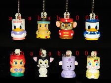 Yujin Disney Pole keychain figure gashapon Part 5 (full set of 8 figures)