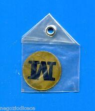 """KICA - Sorprese Decalcomania Figurina-Sticker anni 60 - LETTERA """"M"""" TONDA"""