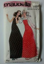 Maudella Sewing Pattern 5838 Maxi Dress Blouse Skirt Size 10 12 14 16 Uncut