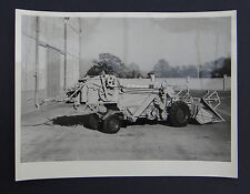 Photo ancienne BRAUD moissonneuse batteuse A2080 tractor tracteur Traktor 12