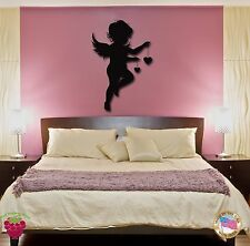 Wall Stickers Vinyl Decal Angel Baby Kids Romantic Decor For Bedroom (z1752)