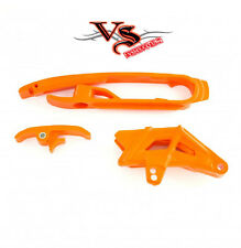 Polisport Chain Guide & Slider Kit KTM SX125 SX150 SX250 SXF250 11-15 ORANGE
