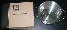 New Cooking Club Life Member Stainless Steel Steamer Pot Pan Insert