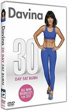 Davina - 30 Day Fat Burn for 2017 New DVD - Davina McCall New & Sealed FREE P&P