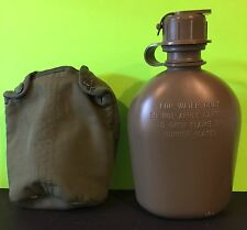 US Military Issue 1Qt. Canteen With Cover
