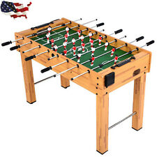 "48"" Competition Sized Foosball Table Soccer Game Room Arcade Hockey Family Sport"
