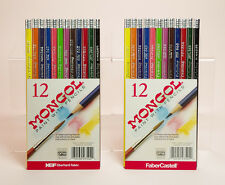 Watercolor Pencils, Two sets of 12, Colored Pencils, Mongol, Faber