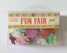 Fun Fair 50 Paper Blossoms by Helz Cuppleditch