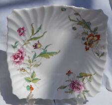 ROYAL DOULTON CLOVELLY CAKE PLATE S H4805 ENGLAND FLORAL FLOWERS RARE