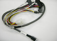 New 80cm Internal 12GB MiniSAS HD Data Cable SFF-8643 to 4 SFF-8482 For Amphenol