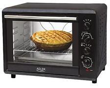 45 L. Backofen Drehspieß Umluft Mini Heißluft Ofen Umluft Pizzaofen 2000 W. NEU
