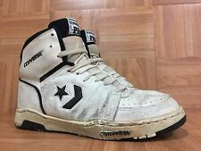 Vintage�� Converse PRO Basketball Sneakers Sz 11 Made In Korea White Blac