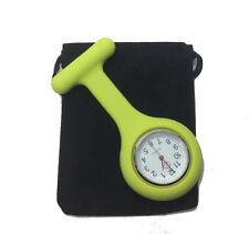 1 x Nurses Fob Watch Silicone Quartz. Ambulance, Paramedic, First Responder