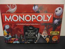 Monopoly The Nightmare Before Christmas Board Game Hot Topic Exclusive