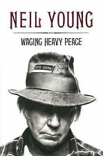 Waging Heavy Peace by Neil Young (2012, Hardcover Book, Penguin Group)