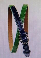 New Baby GAP Girls Elysian Fields Green Patent Belt Size 2-5 years NWT $15
