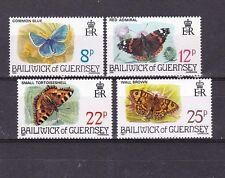 Guernsey 1981 set,butterflies MNH             d925