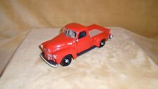 1/24 SCALE  DIE CAST MAISTO 1950 CHEVY 3100 PICK UP ORANGE